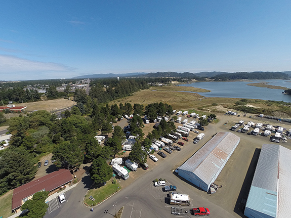 Campground The Port Of Siuslaw Campground And Marina
